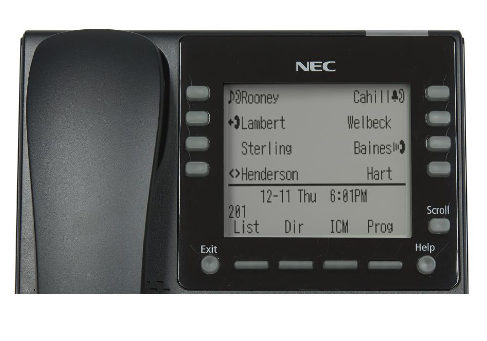 Telefon IP NEC DT820 DESI-less