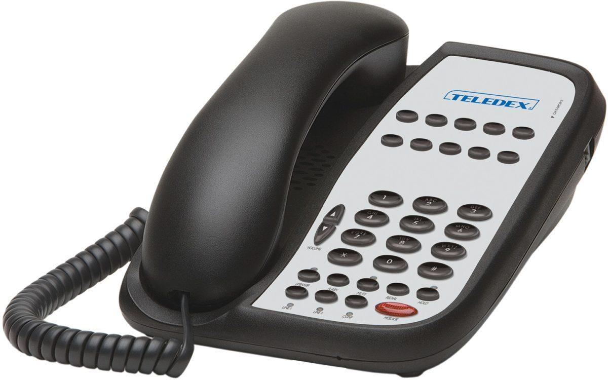 Telefon hotelowy Teledex serii I